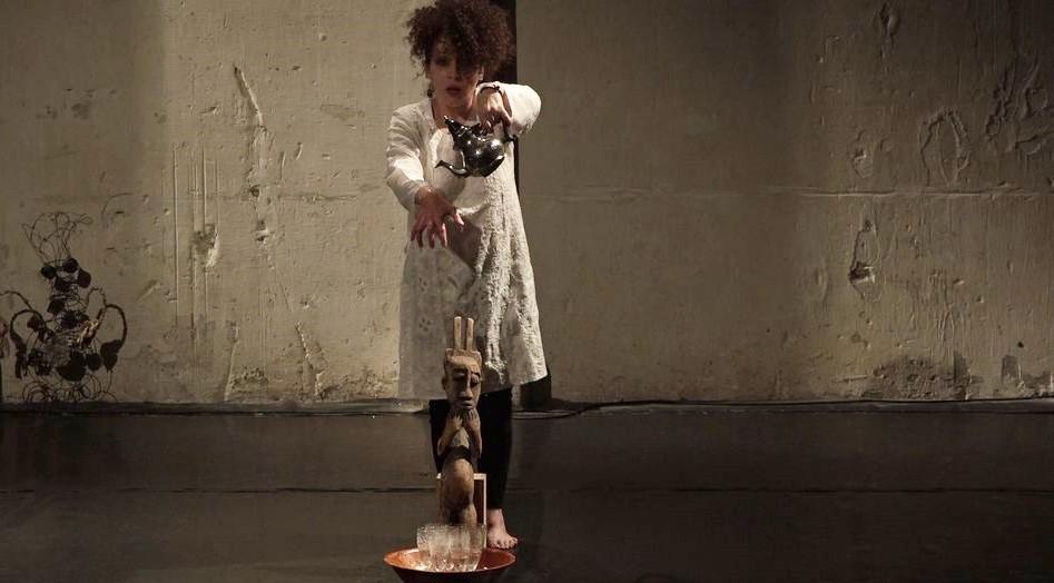 catherine gil alcala performance La Foule Divinatoire des Rêves